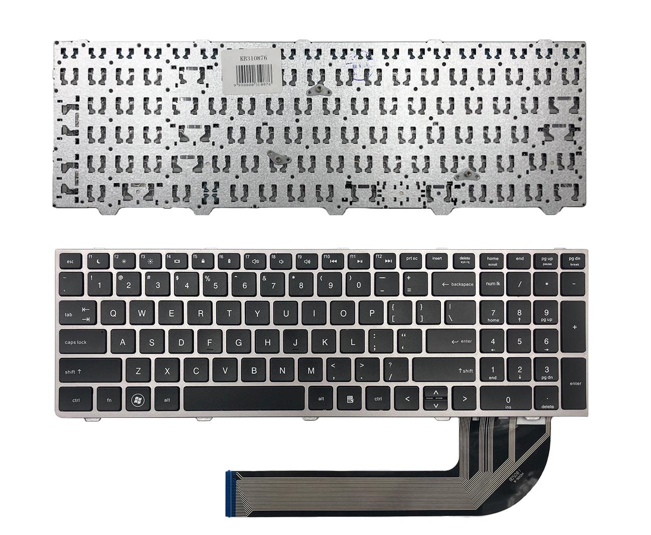 Klaviatūra HP ProBook: 4540, 4540s, 4045, 4045s