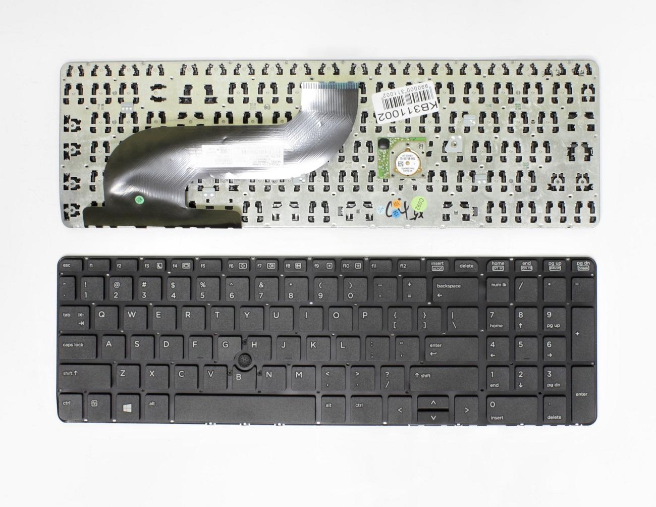 Klaviatūra HP ProBook: 640, 645, 650