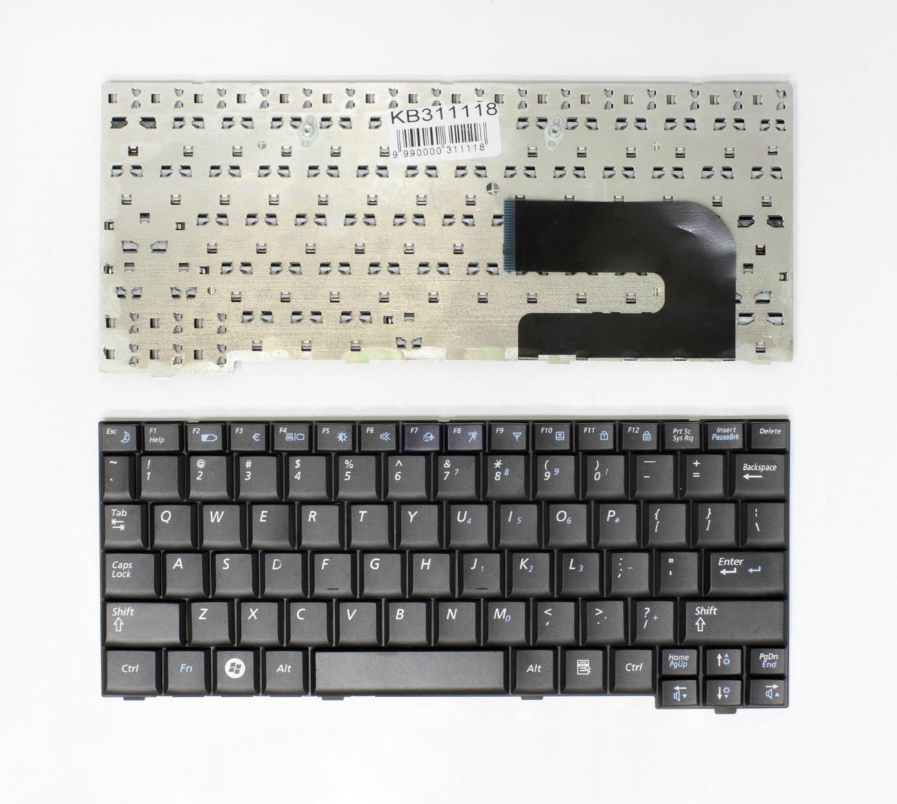 Klaviatūra SAMSUNG: ND10, NC10, NC310, NP-N130, NP-N140, NP-N110