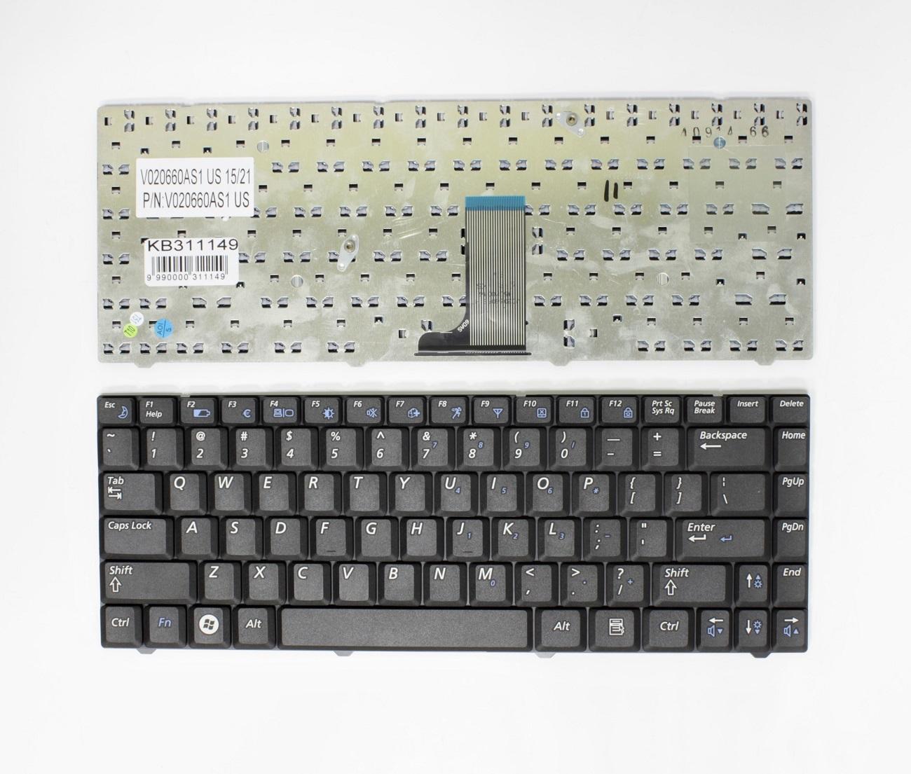 Klaviatūra SAMSUNG: R519 NP-R519