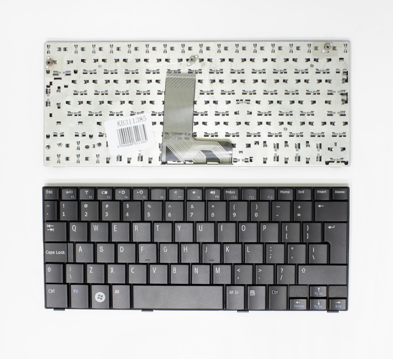 Klaviatūra DELL Inspiron Mini 10, 10V, 1010, 1011, UK