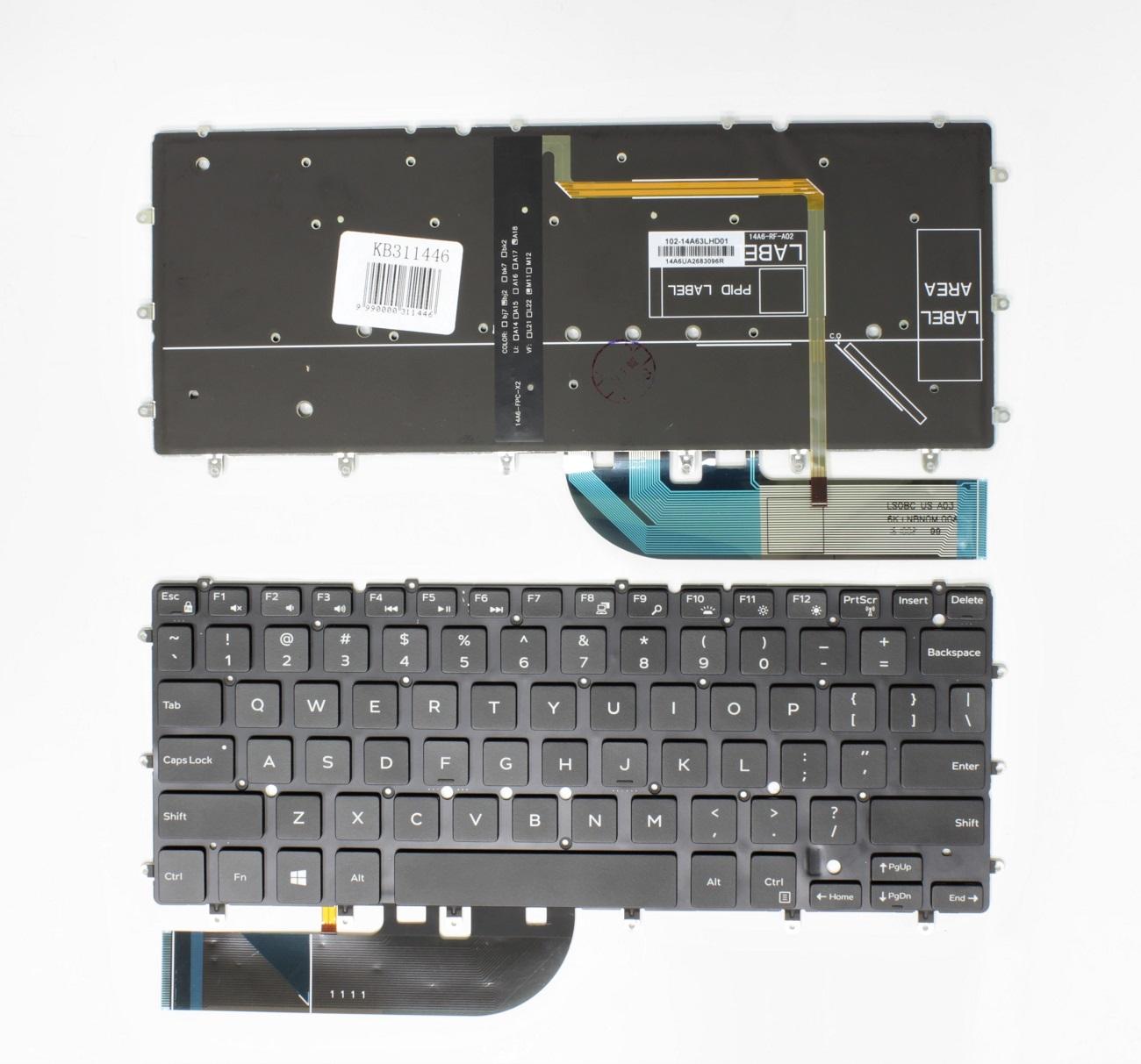 Klaviatūra DELL XPS 13-9350