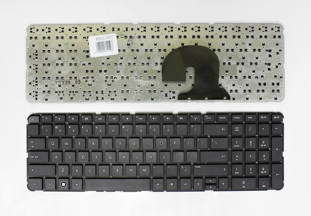 Klaviatūra HP Pavillion: DV7-4000, DV7-4100