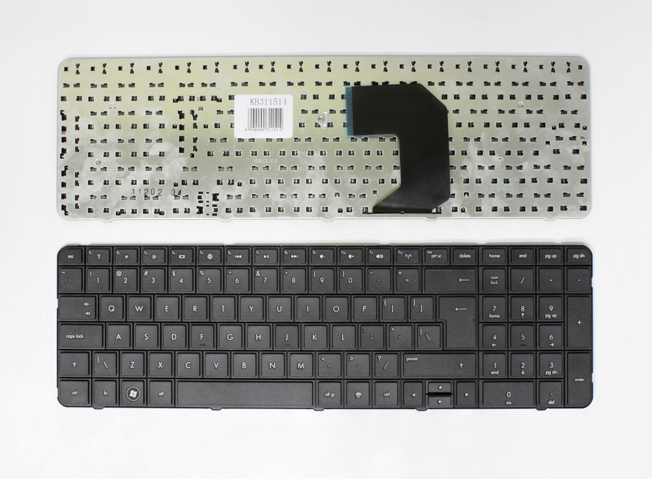 Klaviatūra HP Pavillion: G7-1000, G7-1100, G7-1200, UK