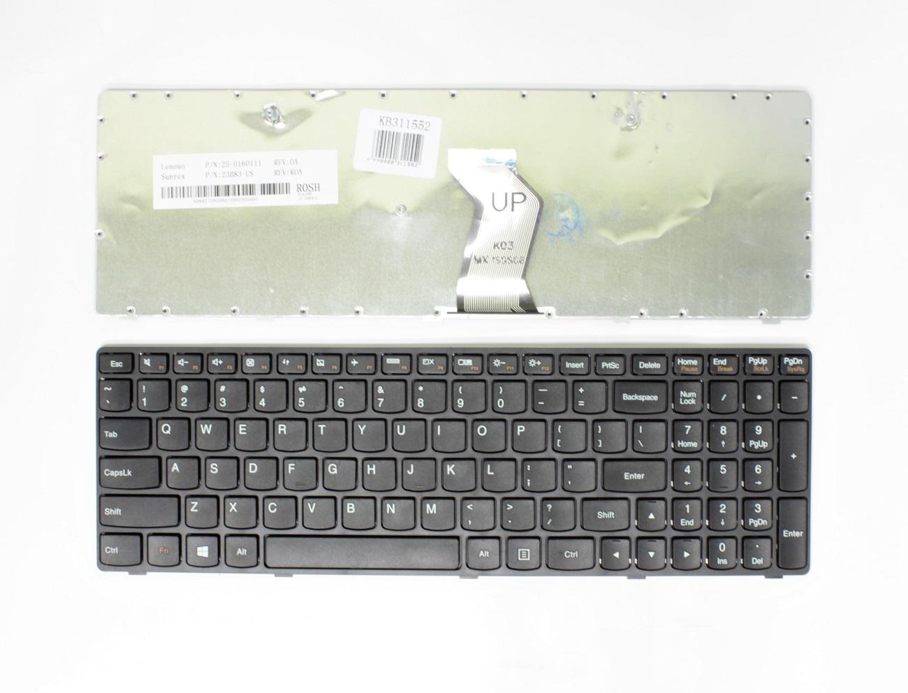 Klaviatūra LENOVO IdeaPad: G500, G505