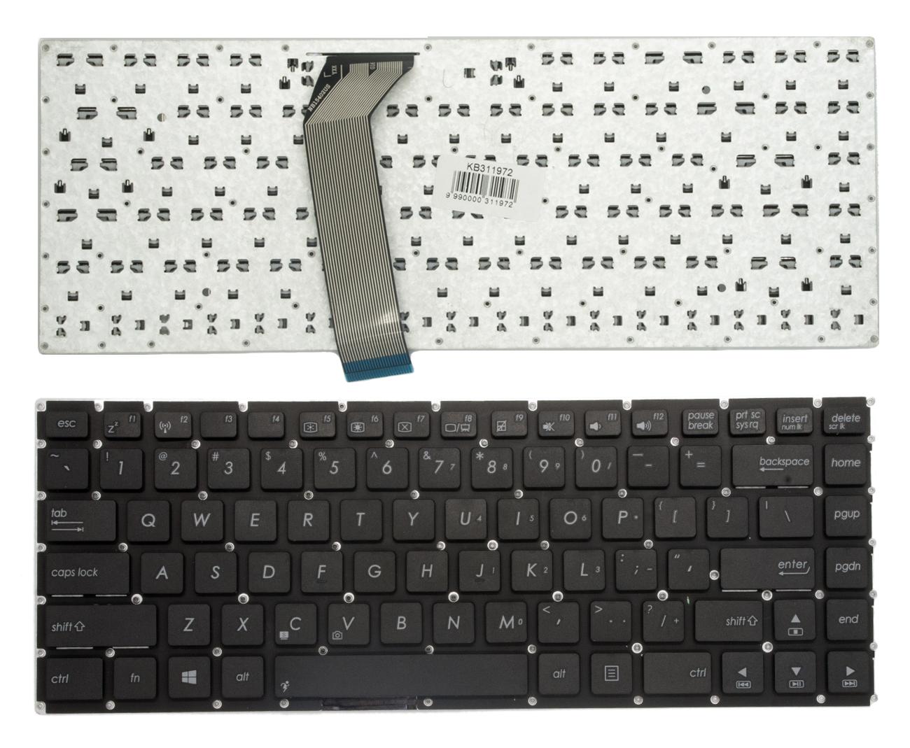 Klaviatūra ASUS: X402, X402C, X402CA, F402, F402C, F402CA, F45