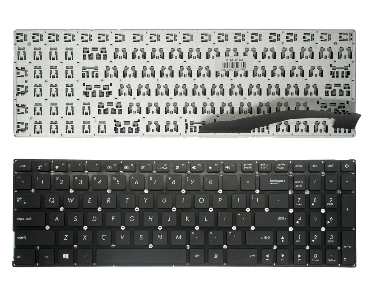 Klaviatūra ASUS: A540,A540L, A540LA, A540LJ, A540S, A540SA, A540SC, A540UP, X540