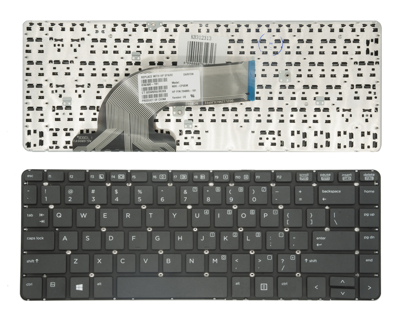 Klaviatūra HP ProBook 430 G2, 440 G0, 440 G1, 440 G2, 445 G2, 630 G2, 640 G1, 645 G1
