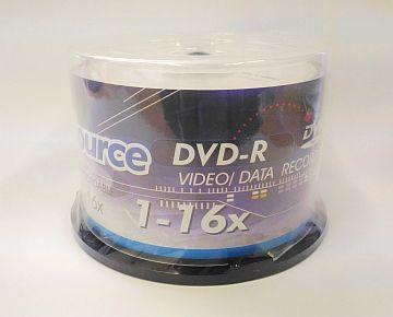 DVD-R, 16x,Powersource, 50vnt. CAKE pak