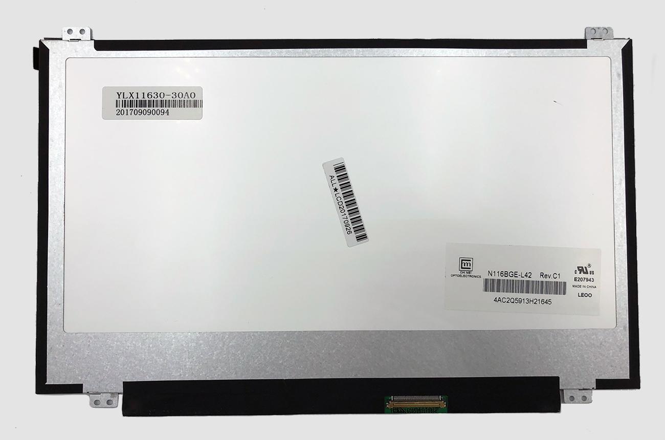 Matrica 11.6'' 1366x768 HD, SLIM, matinis, 40pin (dešinė), A+