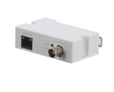 Single-Port Long Reach Ethernet over Coax Extender receiver