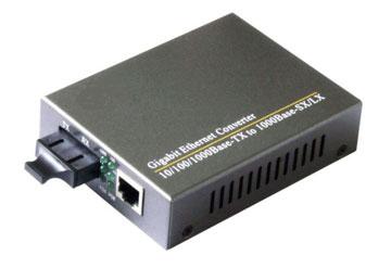 Media Converter 10/100/1000M  TX1310nm