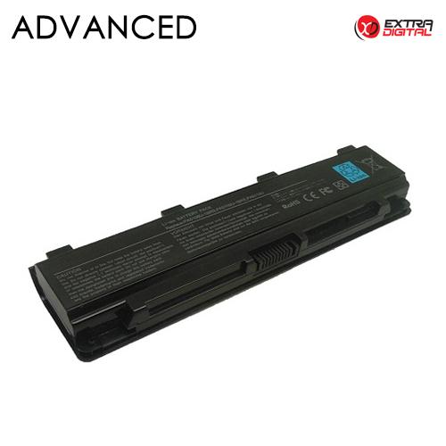 Notebook baterija, Extra Digital Advanced, TOSHIBA PA5109U, 5200mAh