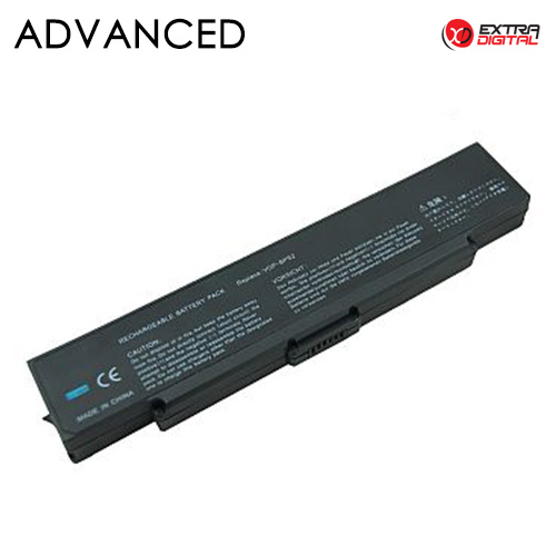 Notebook baterija, Extra Digital Advanced, SONY VGP-BPS2, 5200mAh