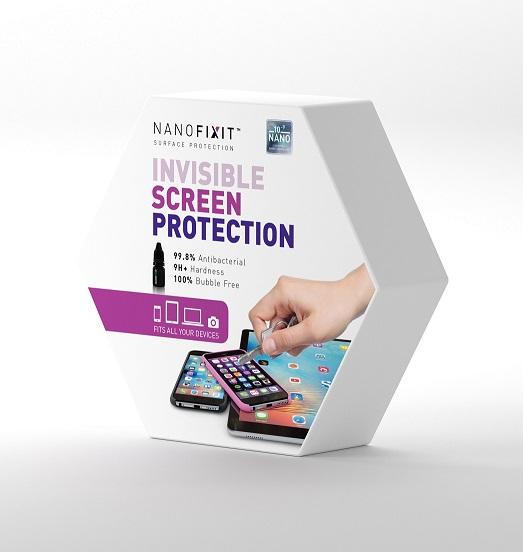 <b><mark><i>NAUJIENA!</i></b></mark> Nanofixt skysta ekrano apsauga Titanium