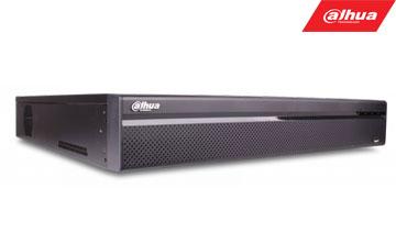 IP įrašymo įrenginys16kam. 4K 8MP, 8HDD, IVS, H.265, PoE switch'as - 16 PoE sąsajų, 200Mbps