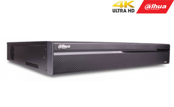 IP įrašymo įrenginys 64kam. 4K (3840×2160), 4HDD, IVS, 320Mbps, H.265/H.264, Fisheye Dewarp, 2HDMI