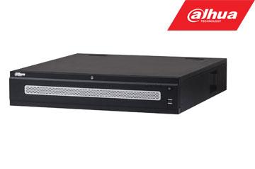 IP įrašymo įrenginys 4K 12MP 64kam. 384Mbps, 8HDD, IVS, RAID, 2 HDMI, H.265/H.264, iSCSI, POS