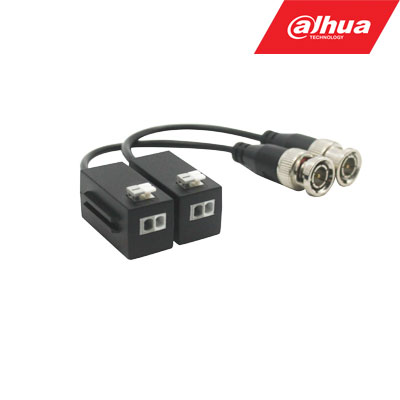 BNC-UTP adapteris HDCVI/AHD/TVI/CVBS 4MP kamerom, pasyvinis. komplekte 2 VNT PFM800-4MP