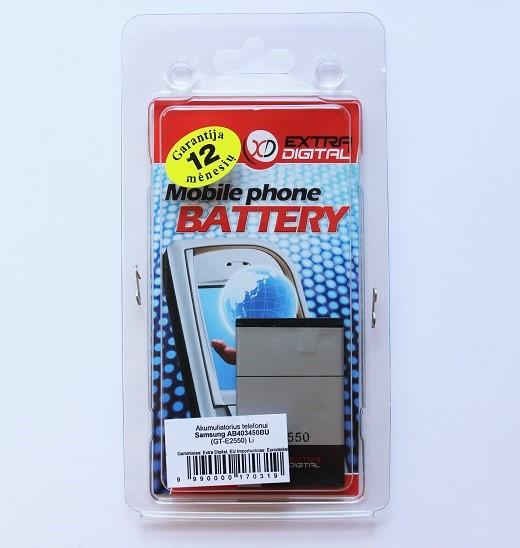 Baterija Samsung GT-E2550, GT-S3550