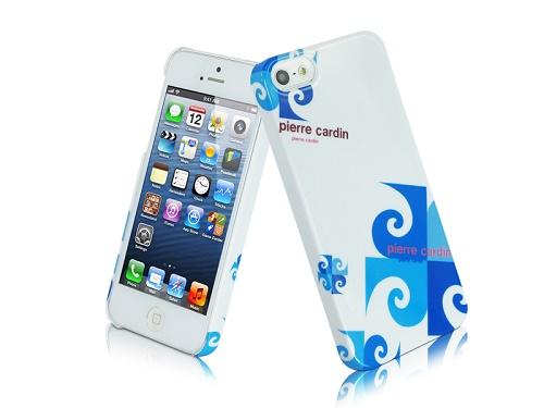 Telefono nugarėlė, Pierre Cardin, mėlyna (iPhone 5/5s/SE)