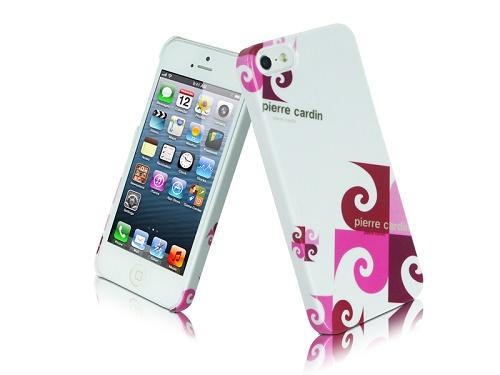 Telefono nugarėlė, Pierre Cardin, rožinė (iPhone 5/5s/SE)
