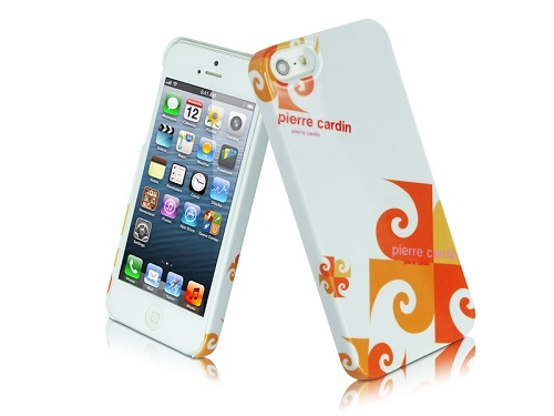 Telefono nugarėlė, Pierre Cardin, oranžinė (iPhone 5/5s/SE)