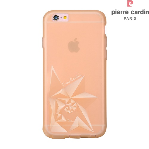 Skaidri-spalvota nugarėlė, Pierre Cardin, auksinė (iPhone 6/6s)