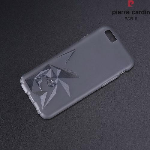Skaidri-spalvota nugarėlė, Pierre Cardin, juoda (iPhone 6/6s)