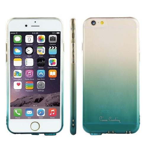 Skaidri žalios spalvos nugarėlė, Pierre Cardin (iPhone 6/6s)