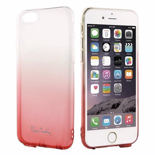 Skaidri rožinės spalvos nugarėlė,  Pierre Cardin (iPhone 6/6s)