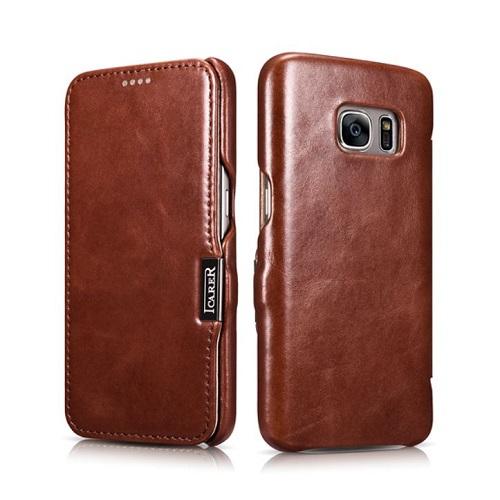Dėklas, rudas (Samsung Galaxy S7)