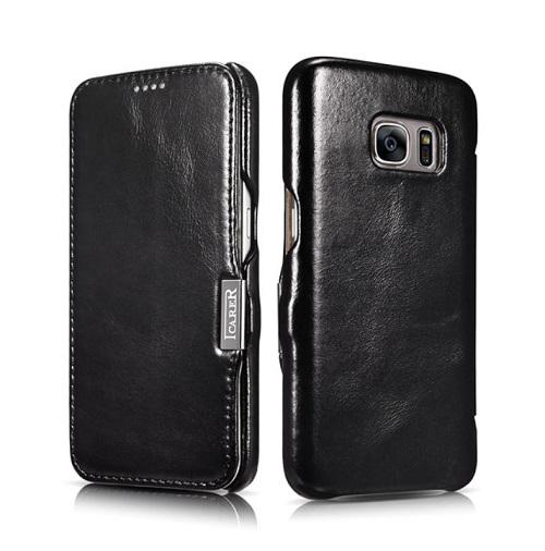 Dėklas, juodas (Samsung Galaxy S7)