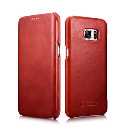 Dėklas,raudonas (Samsung Galaxy S7 Edge)