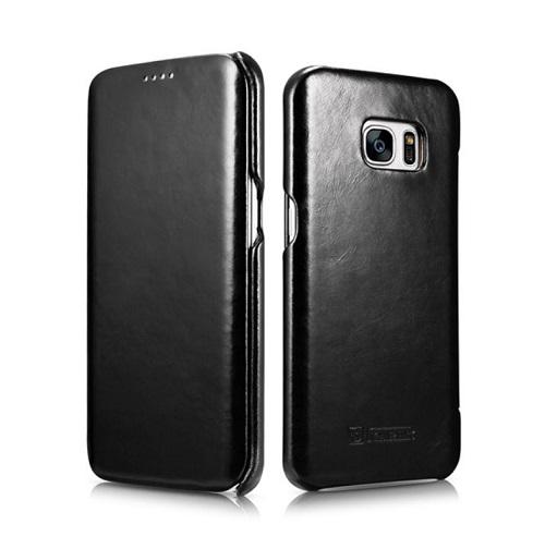 Dėklas, juodas (Samsung Galaxy S7 Edge)