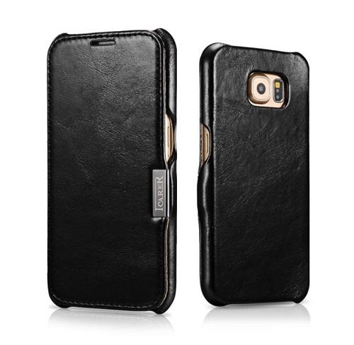 Dėklas, juodas (Samsung Galaxy S6)