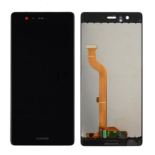 Ekranas Huawei P9 (juodas)