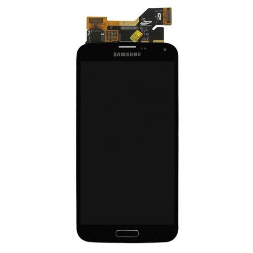 Ekranas Samsung Galaxy S5 (juodas)