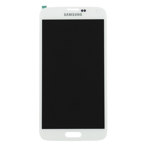 Ekranas Samsung Galaxy S5 (baltas)