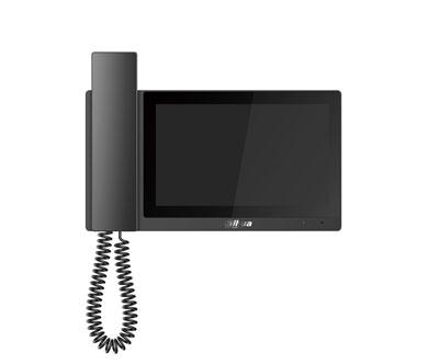 IP domofono monitorius su rageliu, 7 col.1024x600, Micro SD kortelės prievadas, PoE(802.3af) juodas
