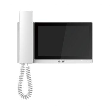 IP domofono monitorius su rageliu, 7 col.1024x600, Micro SD kortelės prievadas, PoE(802.3af) baltas