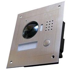 Villa IP lauko telefonspynės spalvota kamera jungiama dviem laidais, 120°, IP 66