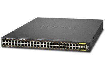 PoE šakotuvas 48 portų, 48040HP,1000Mbps