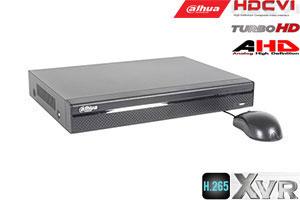 Pentabrid  įrašymo įreng. 4kam. HDCVI/AHD/TVI/CVBS/IP 2MP 15fps (non-realtime), H.265+,1HDD, 4 Mic