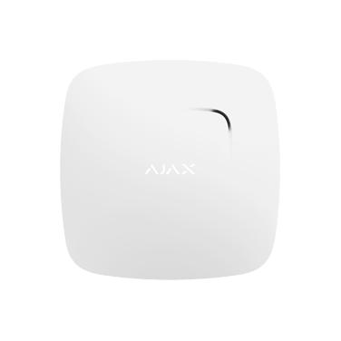 Ajax FireProtect Plus dūmų detektorius su temperatūros jutikliu (baltas)