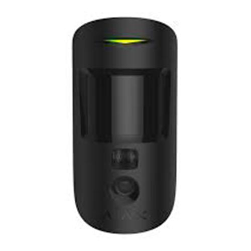 Ajax MotionCam judesio detektorius su fotokamera (juodas)