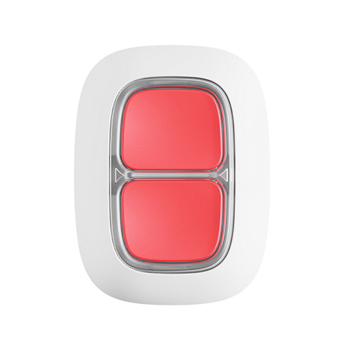 Ajax dvigubas panikos mygtukas (baltas)