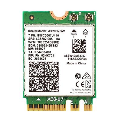 WiFi 6 ir Bluetooth -M.2 adapteris, 3000Mbps, 2.4GHz, 5GHz