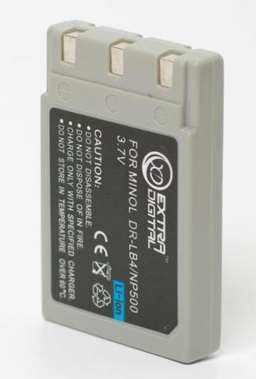 Minolta, baterija NP-500, NP-600,DR-LB4