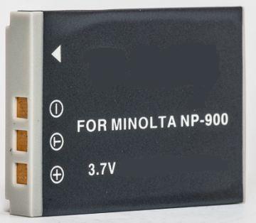 Minolta, battery NP-900, Praktica 8203/8213, Li-80B